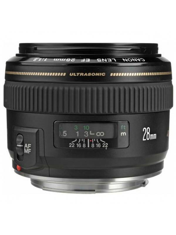 Canon Objetivo EF  28mm f1.8 USM -