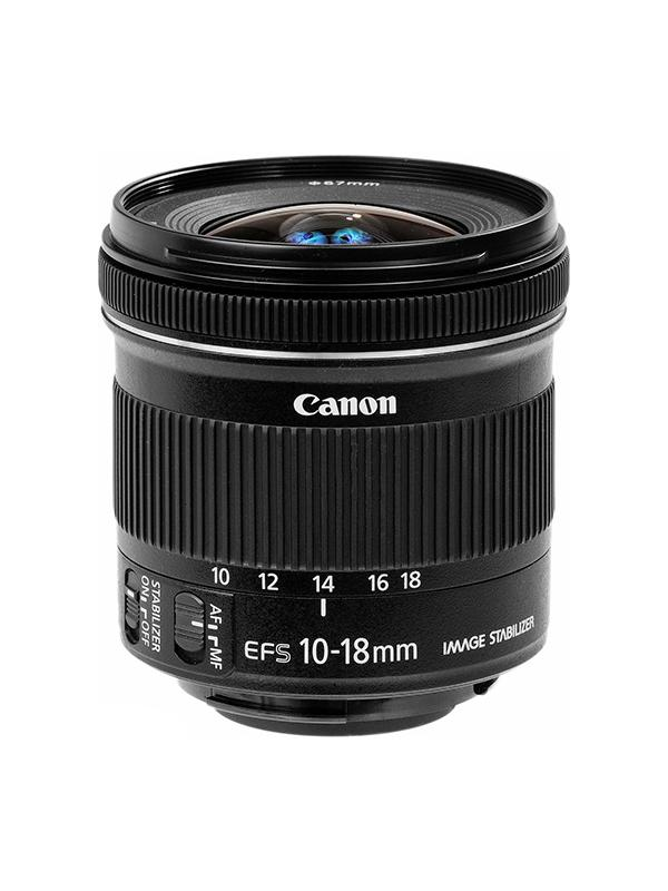 Canon Objetivo EF-S Zoom  10-18mm f4.5-5.6 IS STM