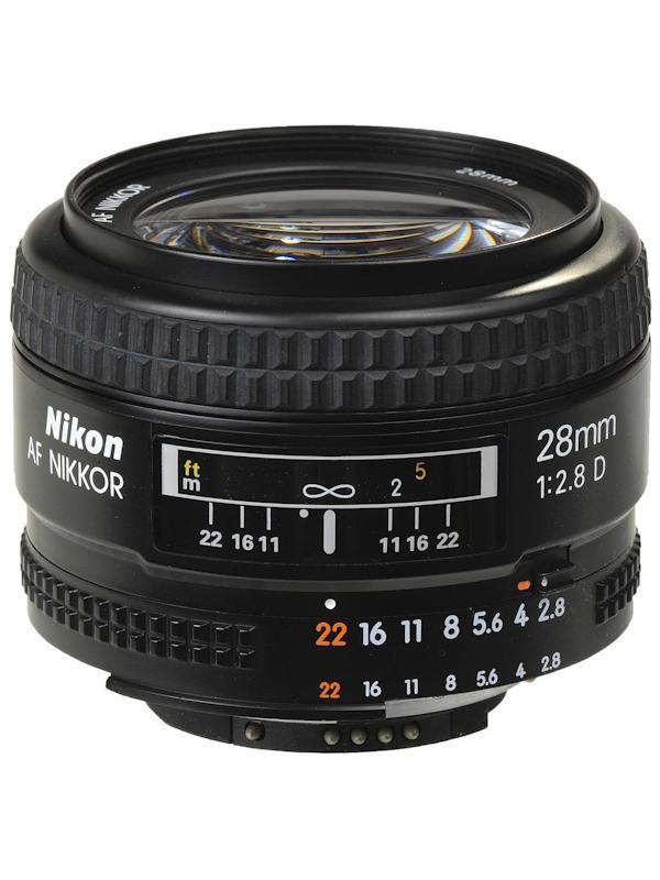 Nikon Objetivo AF-D  28mm f2.8