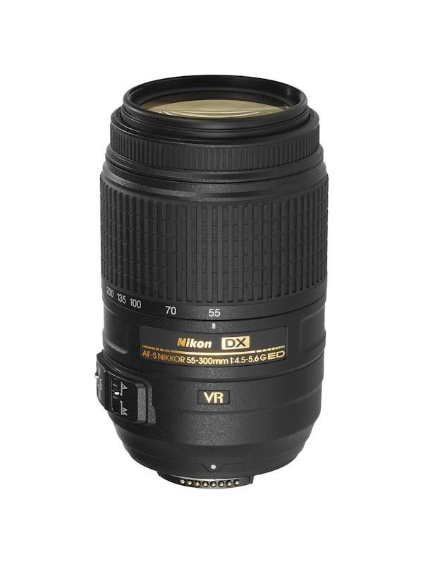 Nikon Objetivo DX Zoom  55-300mm G f4.5/5.6 AF-S VR ED