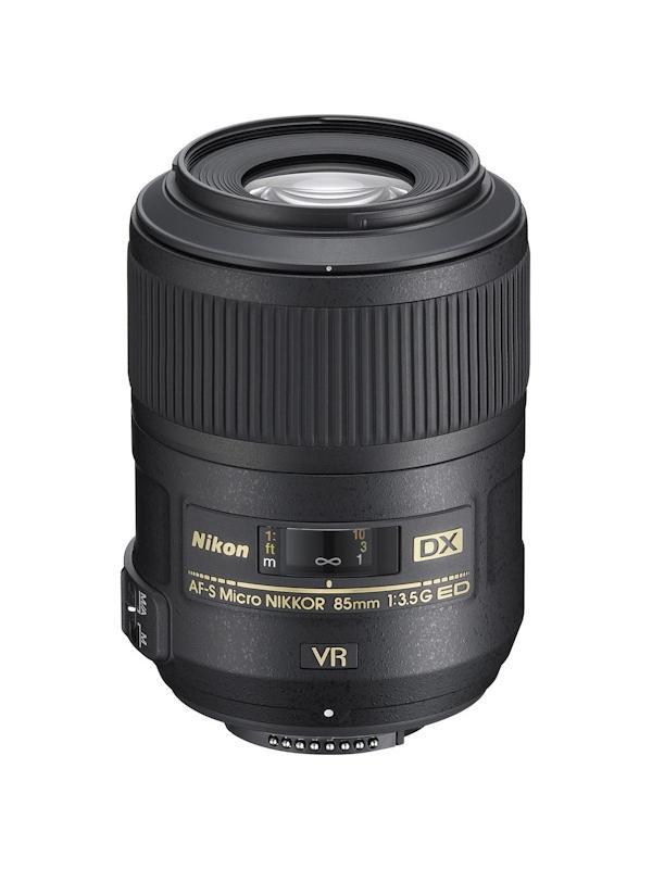 Nikon Objetivo DX  85mm G f3.5 Micro AF-S VR  ED