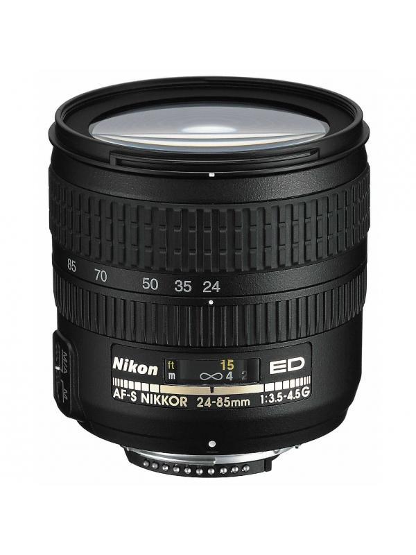 Nikon Objetivo AF-S Zoom  24-85mm G f3.5/4.5 ED -