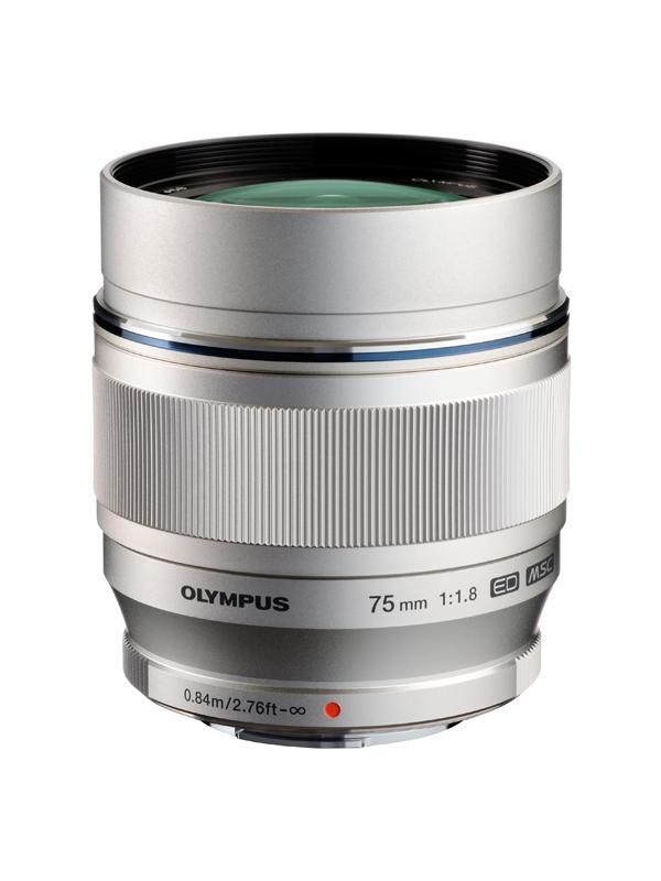 Olympus Objetivo M. Zuiko ED  75mm f1.8 Plata -