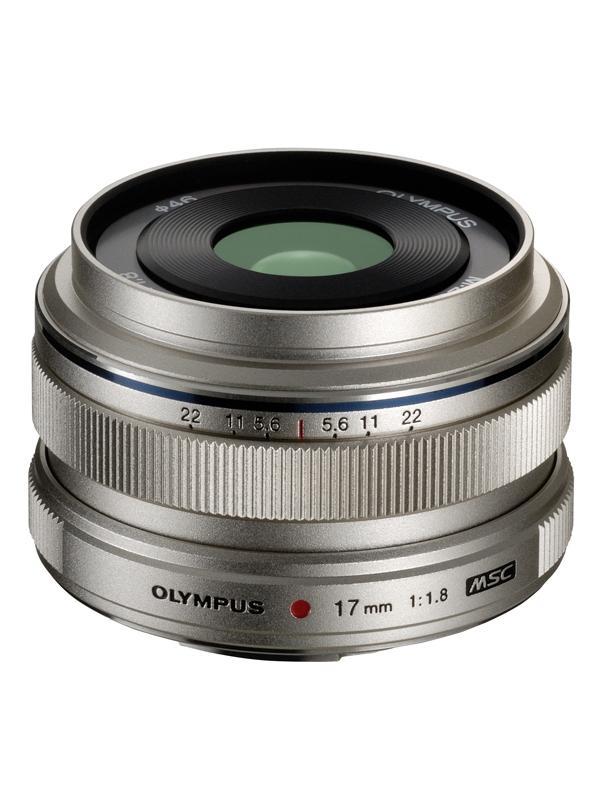 Olympus Objetivo M. Zuiko ED  17mm f1.8 Plata -