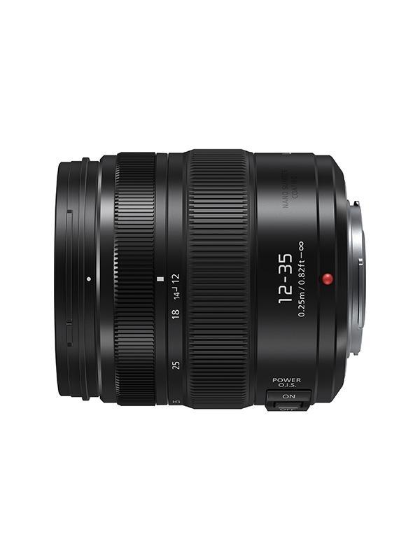 Panasonic Objetivo H-HSA12035 - 12-35mm f2.8 II - Longitud focal: 12-35 mm / 24-70 mm (equivalente a cámara de 35 mm) Rango de apertura: f2,8 Tamaño del filtro: φ58 mm / 2,28