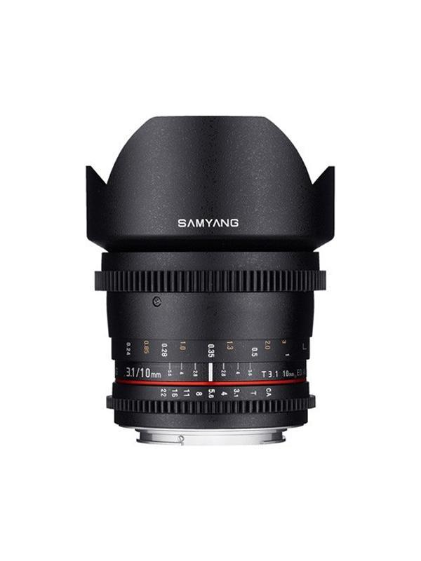 Samyang Objetivo Canon  10mm T3.1 ED AS NCS VDSLR II APS-C -