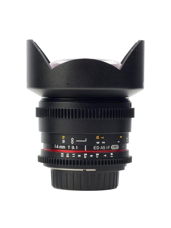 Samyang Objetivo Canon  14mm T3.1 VDSLR -