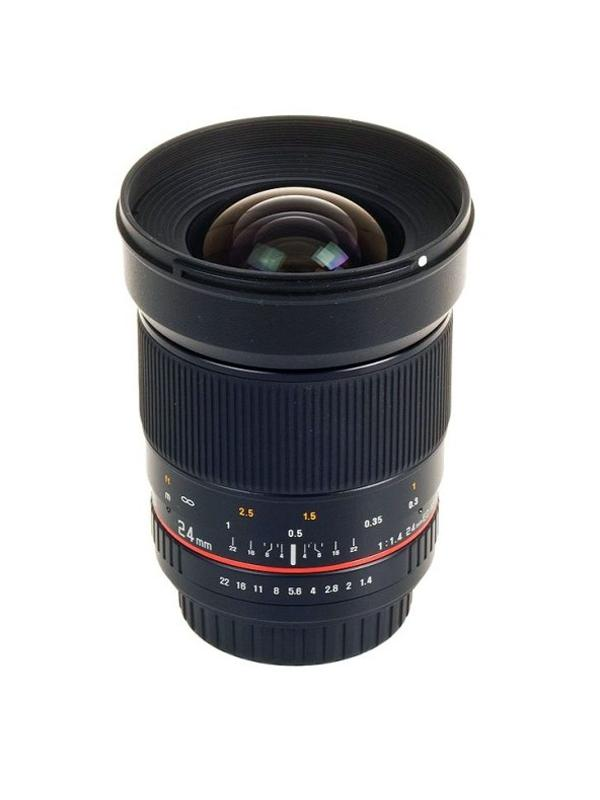 Samyang Objetivo Nikon AE  24mm f1.4 -