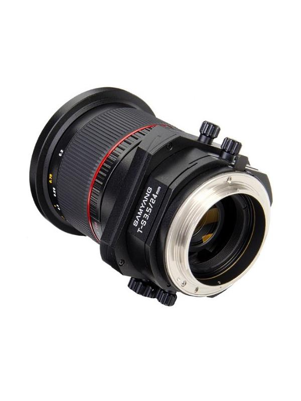 Samyang Objetivo Nikon  24mm T-S f3.5 Descentrable -