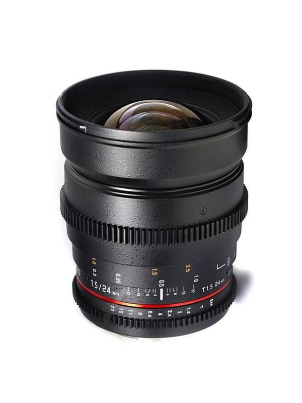 Samyang Objetivo Canon  24mm T1.5 VDSLR -