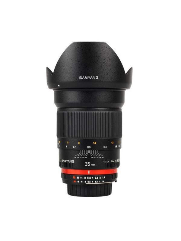 Samyang Objetivo Nikon AE  35mm f1.4 -