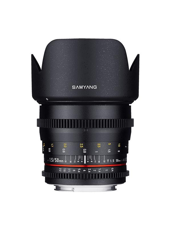 Samyang Objetivo MFT Micro 4/3  50mm T1.5 VDSLR  AS -