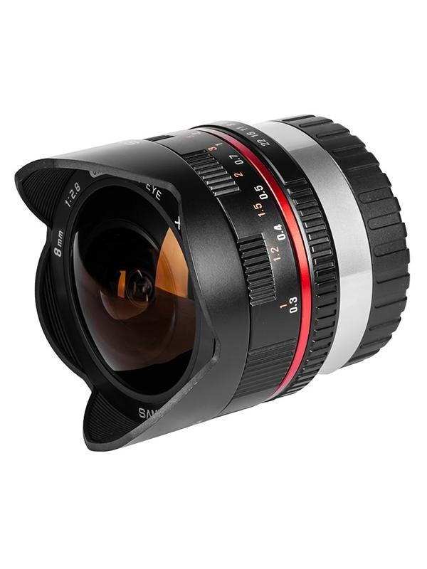 Samyang Objetivo Fuji-X   8mm f2.8 Negro -