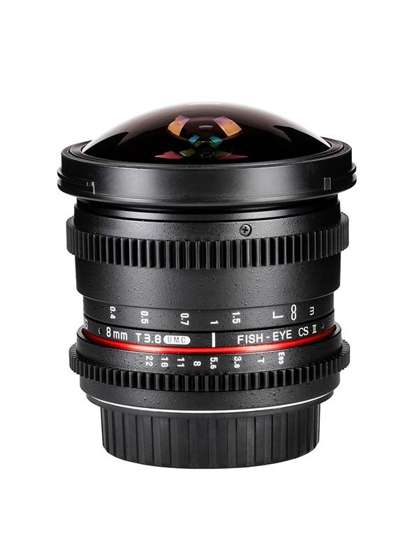 Samyang Sony E   8mm T3.8 Fisheye VDSLR  (APS-C) -
