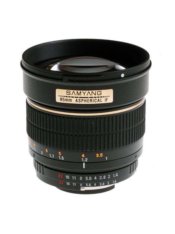 Samyang Objetivo Nikon AE  85mm f1.4 -