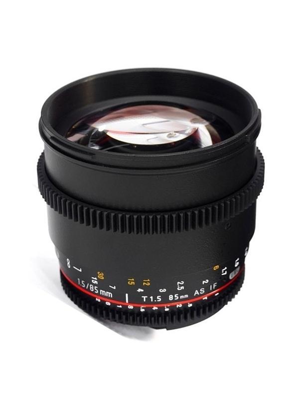 Samyang Objetivo Canon  85mm T1.5 VDSLR -