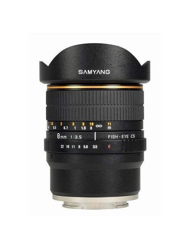 Samyang Objetivo Nikon AE   8mm f3.5 CSII Fisheye