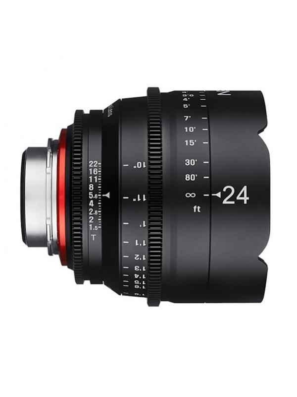 Samyang Xeen Canon 24mm T1.5 Cine -