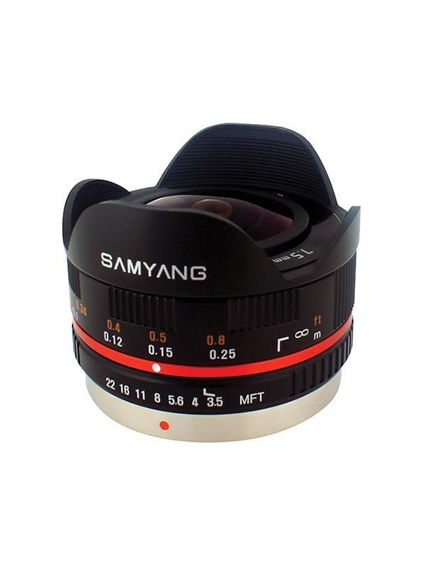 Samyang MFT 7.5mm f3.5 Ojo de Pez -