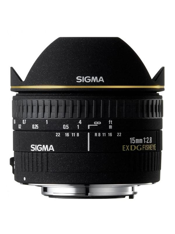 Sigma DG  15mm f2.8 EX  Ojo de Pez diagonal Canon