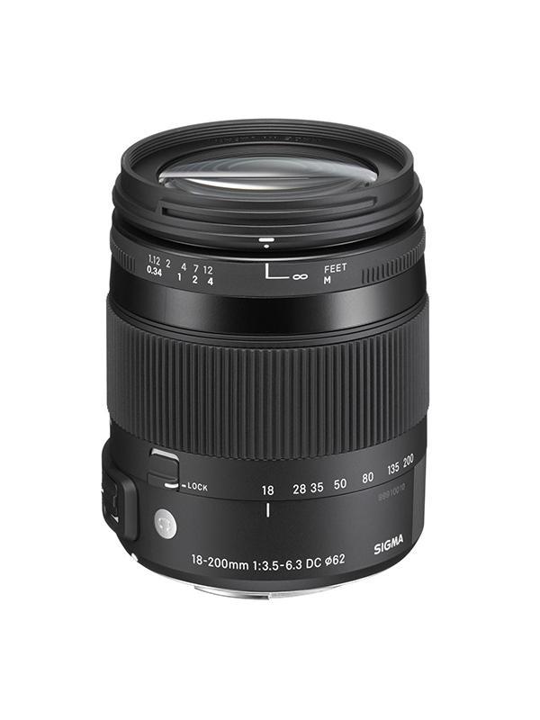 Sigma DC  18-200mm f3.5-6.3 Contemporany Macro OS Canon -