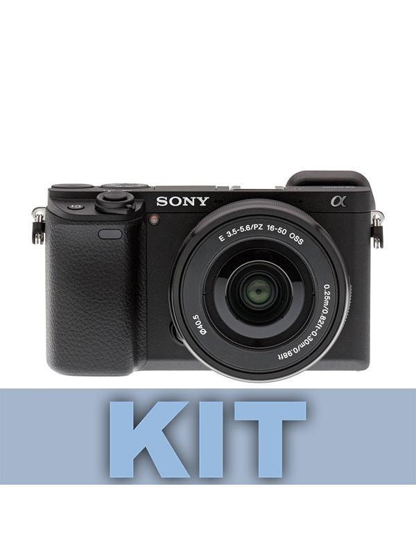 Sony Cámara A6300 + 16-50mm f3.5-5.6 OSS -