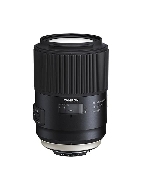 Tamron Objetivo SP   90mm f2.8 Canon Di Macro VC USD New -