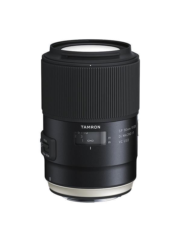 Tamron Objetivo SP   90mm f2.8 Nikon Di Macro VC USD New -