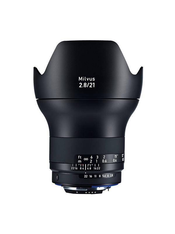 Zeiss Objetivo Milvus 2.8/21mm ZF.2 p/ Nikon D-Click -
