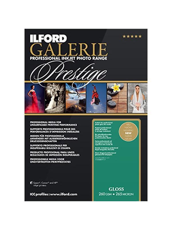 Ilford Galery Prestige Brillo 260g A4 25 Hojas -