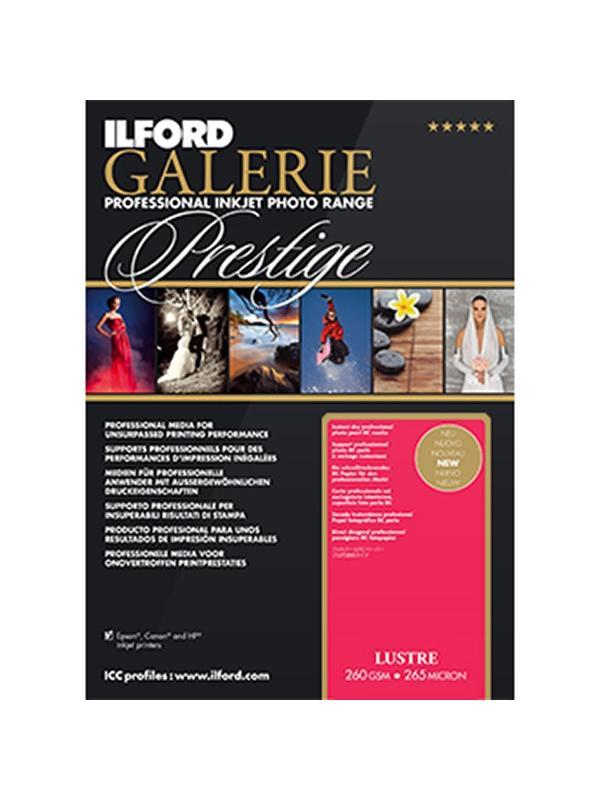 Ilford Galery Prestige Lustre 260g A4 25 Hojas -