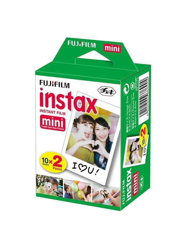 Fuji Carga Instax Mini 2x10 Exposiciones -