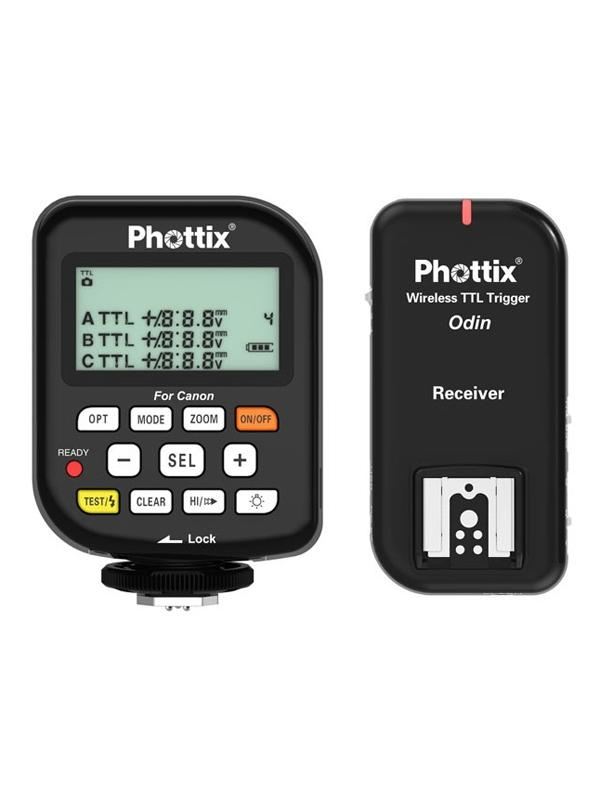 Phottix Odin Kit Emisor / Receptor para Canon  TTL -