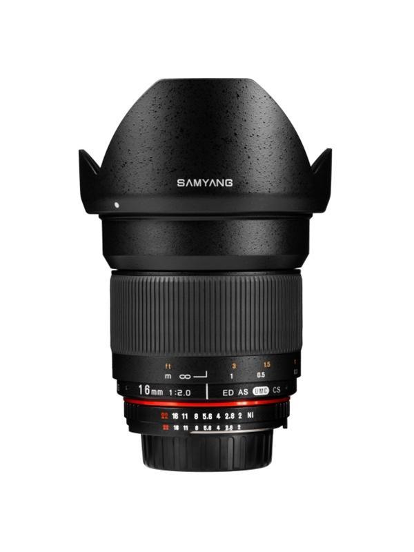 Samyang Objetivo Canon  16mm f2 ED AS UMC CS (APS-C)