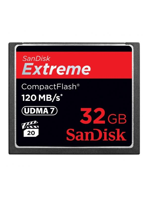 Sandisk CF Extreme 120MB/s 32GB -