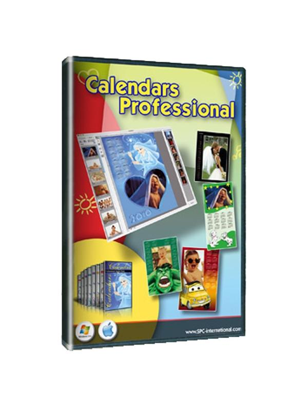 SPC Calendars Pro. Win & Mac -