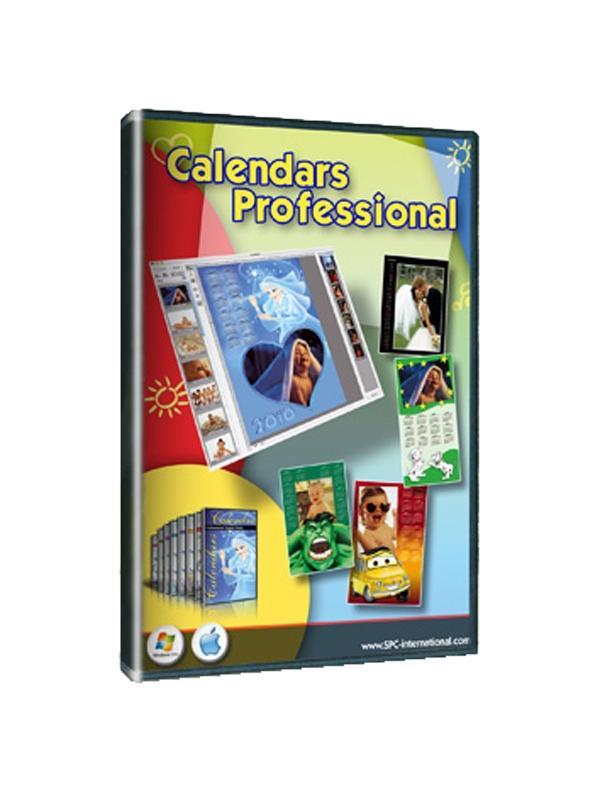 SPC Calendars Plus Pro. Win & Mac -