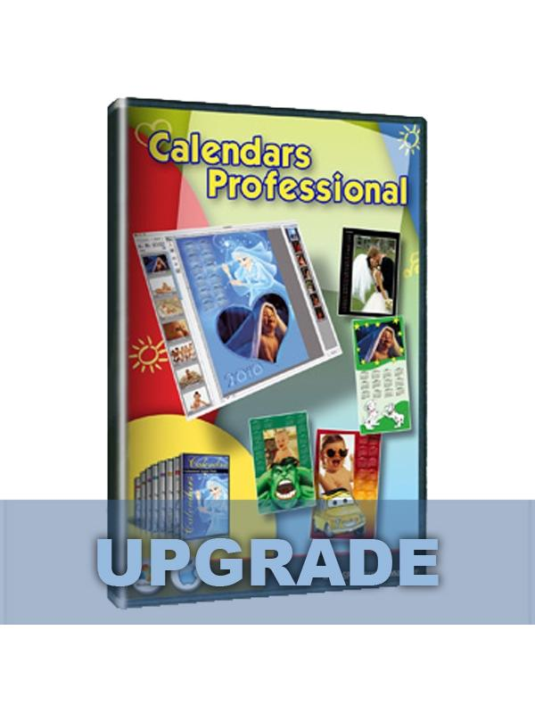 SPC Calendars Pro. Upgrade Win & Mac -