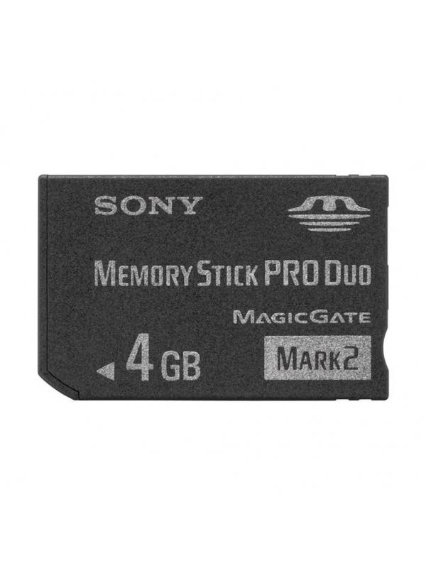 Sony Memory Stick Pro Duo 4Gb -