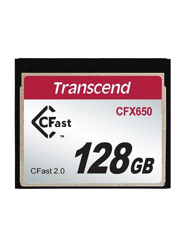 Transcend CFast 2.0 128GB CFX650 Read: 510 MB/s - Write: 370MB/s -