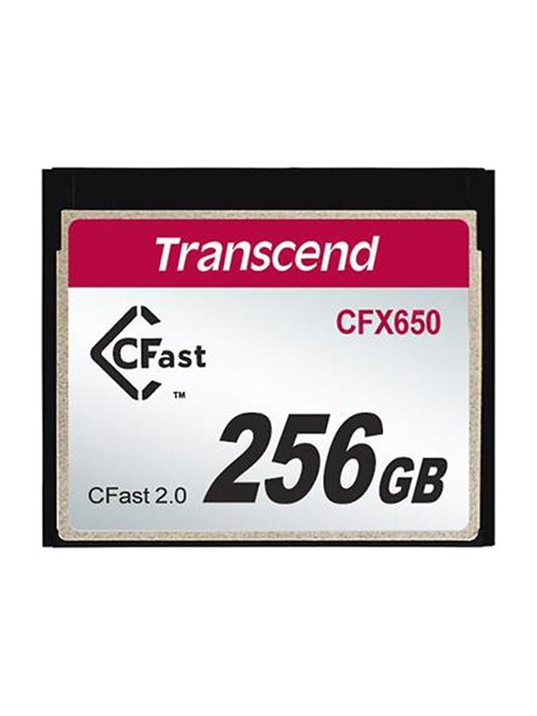 Transcend CFast 2.0 256GB CFX650 Read: 510 MB/s - Write: 370MB/s