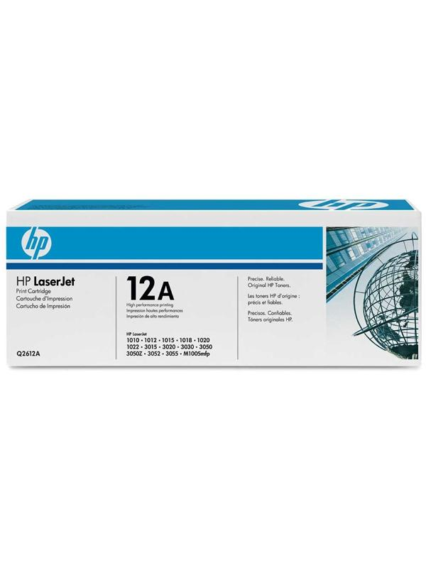 HP Toner 12A Q2612A Negro Laser 2000 paginas -