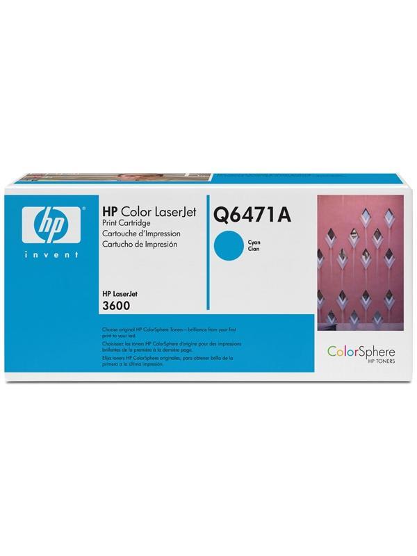 HP Toner Q6471A Cian Laser 4000 paginas -