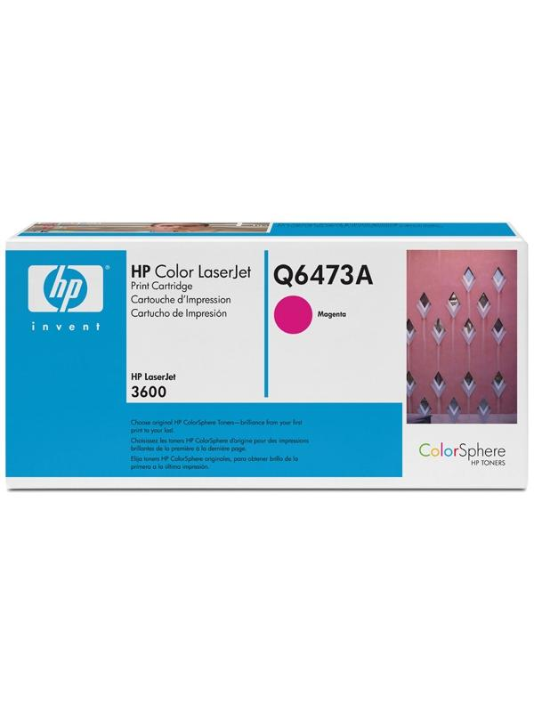 HP Toner Q6473A Magenta Laser 4000 paginas -