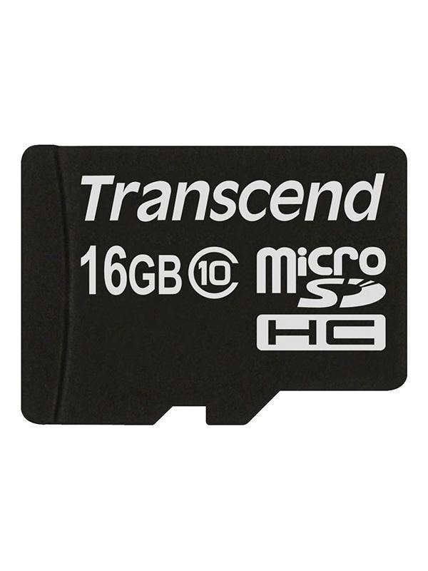 Transcend MicroSD HC Clase 10 16GB + Adaptador 45MB/s -