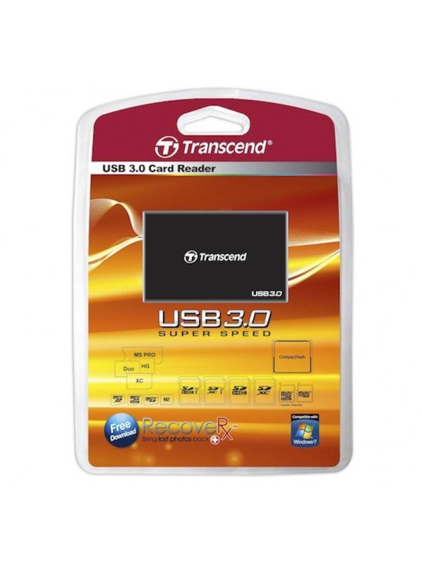Transcend Multilector RDF8 USB 3.0 -