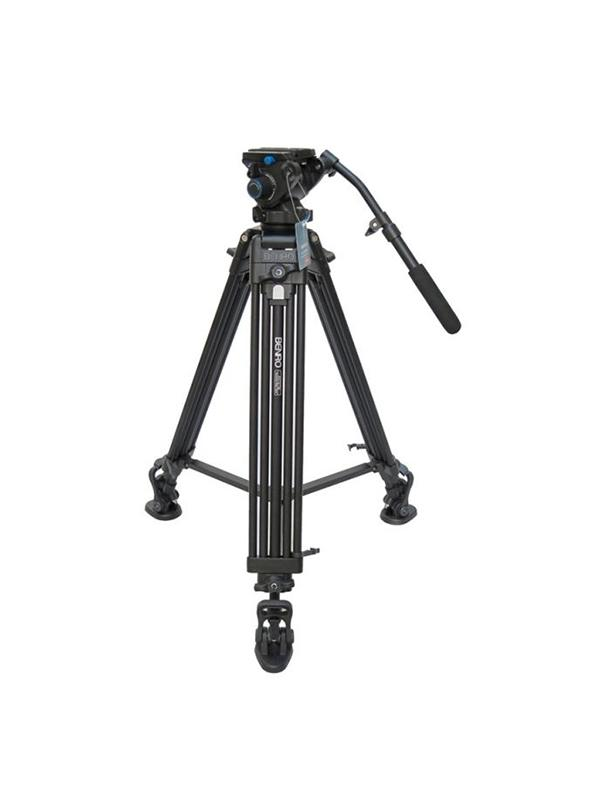 Benro Tripode Video 572 c/ S6 Doble tubo -