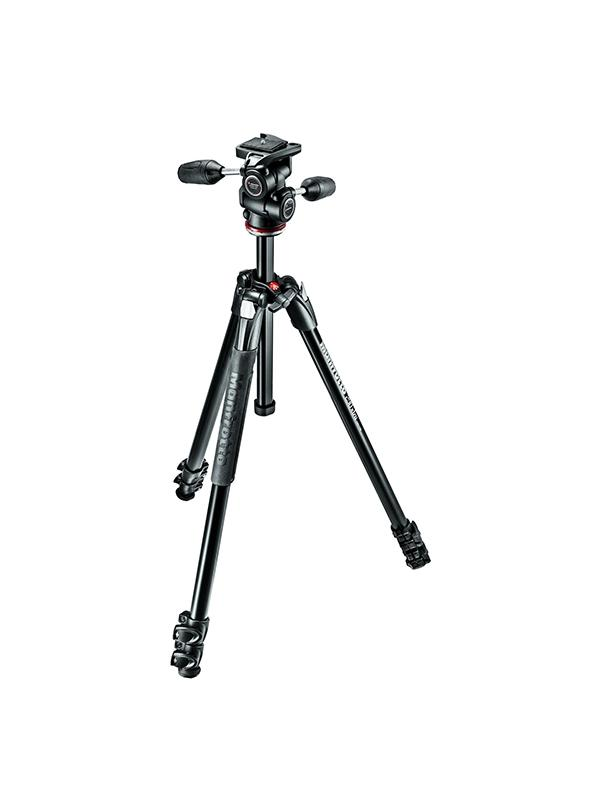 Manfrotto Trípode Kit Foto 290 XTRA Rótula 3 Way -