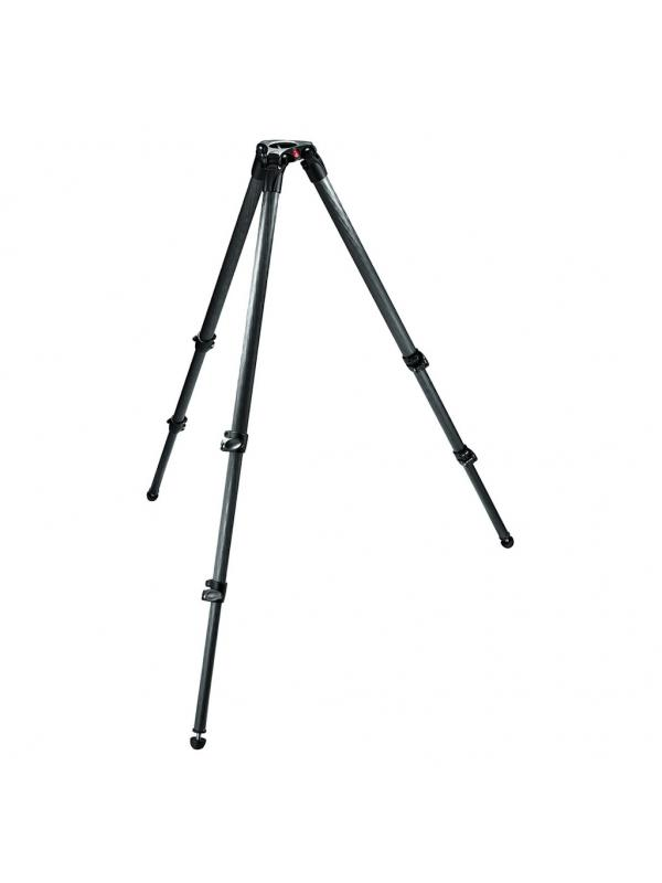 Manfrotto Tripode 535 MPRO Video Carbono 3 Seccion -