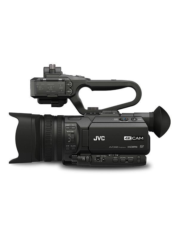 JVC Videocámara HM-170 + ASA HU1 Conectores de Audio -